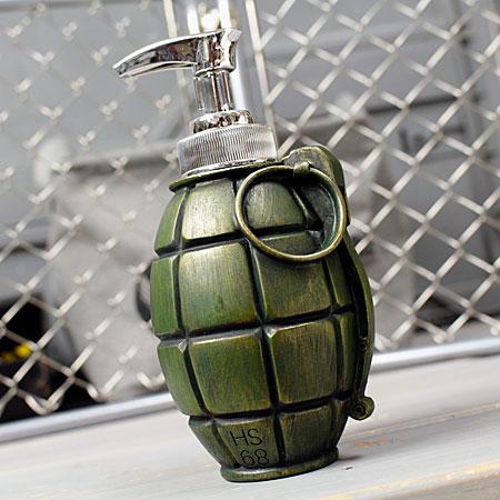 Soap dispenser kitchen military military goods grenade joke interesting  joke American American miscellaneous goods _ ZZ-006-FEE