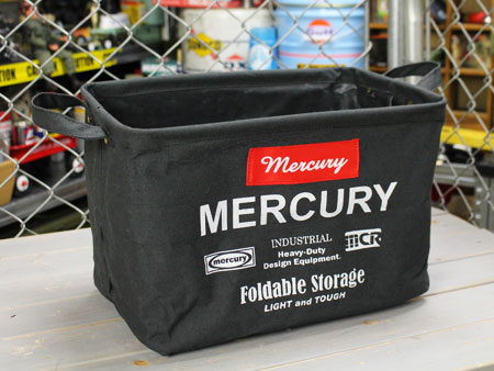 タイムセール ファブリック素材のオシャレな小物入れ 衣類やスナック入れに マーキュリー キャンバスバスケット 収納 カゴ アメリカ ブラック_MC-MECARBMB-MCR アメリカン雑貨 ランドリーバスケット 値下げ おしゃれ サイズM
