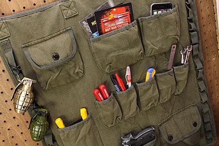 军事沃尔口袋漂亮的布墙壁装饰收藏黄褐色美国美国的杂货_SR-004548-HTC
