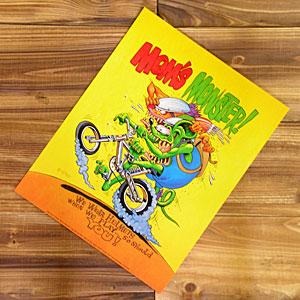 エド ロスが描くラットフィンクの世界 ラットフィンク ポスター 休日 レトロ コミック 格安SALEスタート ホットロッド モンスター FINK ロス Monster_PT-RA167MM-MON Mom's RAT アメリカン雑貨 アメリカ