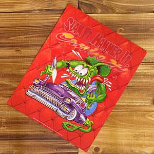 エド ロスが描くラットフィンクの世界 ラットフィンク ポスター レトロ コミック ホットロッド モンスター ロス RAT Hammer FINK _PT-RA167SH-MON Slam 返品送料無料 アメリカ アメリカン雑貨 新発売 it