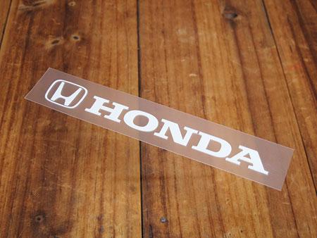 定番人気のホンダステッカー 車やガレージのドレスアップに ステッカー ホンダ 車 アメリカン おしゃれ バイク 定番 NEW ARRIVAL ヘルメット かっこいい 転写式 ロゴ ホワイト メール便OK サイズS _SC-R310-TMS カーステッカー Hマーク HONDA