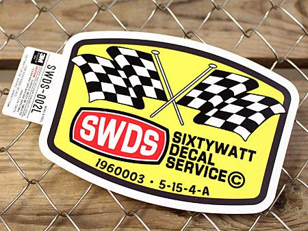 身の回りの物をかっこよくオシャレに変身させるステッカー ステッカー 車 アメリカン 世田谷ベース かっこいい カーステッカー メール便OK シックスティーワット 信憑 _SC-SWDS002L-SXW サイズL 低価格化