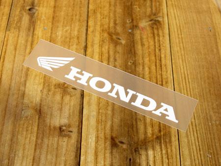 定番人気のホンダステッカー The Power of Dreams HONDA ステッカー ホンダ 新作からSALEアイテム等お得な商品 満載 車 アメリカン おしゃれ ロゴ バイク 転写式 かっこいい カーステッカー _SC-R313-TMS ショッピング ヘルメット メール便OK ホワイト サイズS ウイング