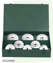 KTC AVSA08A カップ型オイルフィルタレンチセット[8コ組]
