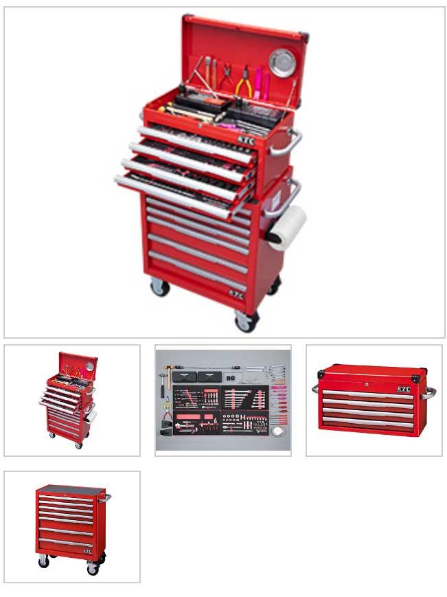 SK94920EER KTC 赤 149点組 6.3sq 9.5sq 12.7sq 工具セット(チェスト&ローラーキャビネットタイプ) 車上渡し 豪華商品プレゼント