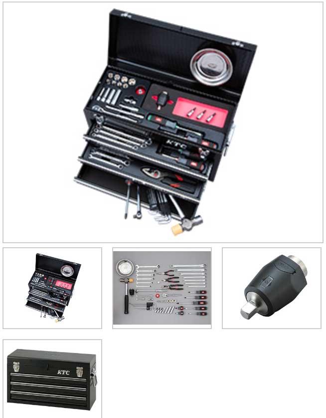 SK35720XBKTQ KTC ブラック 9.5sq 57点組 工具セット(チェストタイプ)トルクコントロールモデル 豪華商品プレゼント