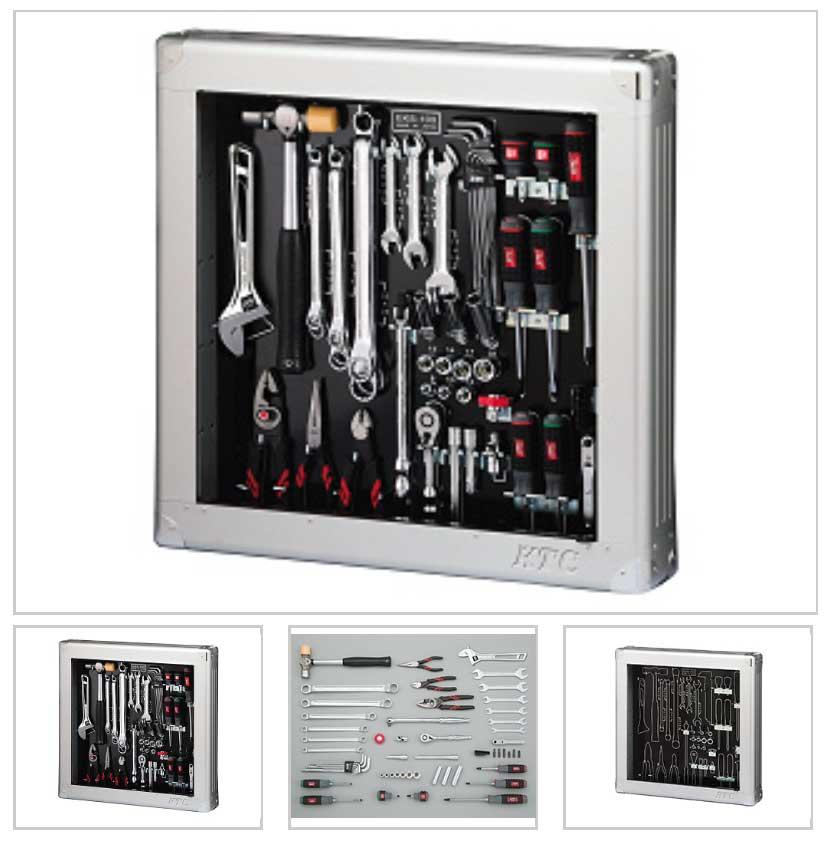 SK35620SS KTC 9.5sq 56点組 工具セット(薄型収納メタルケースタイプ) 豪華商品プレゼント