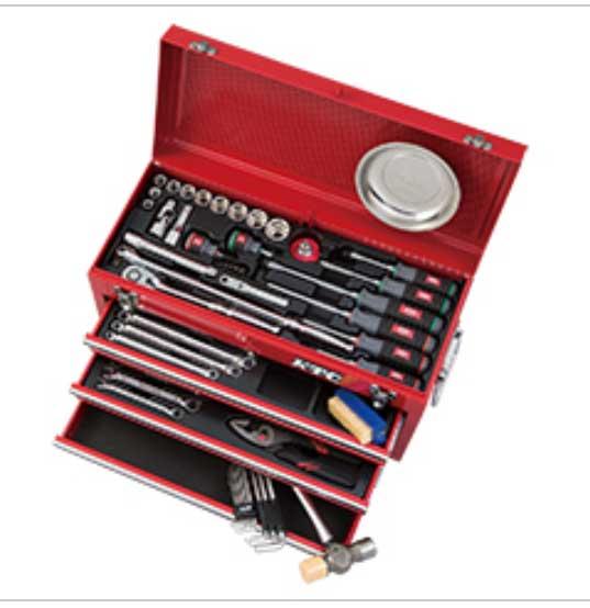 SK46020X KTC 赤赤 12.7sq 60点組 工具セット(チェストタイプ)豪華商品プレゼント