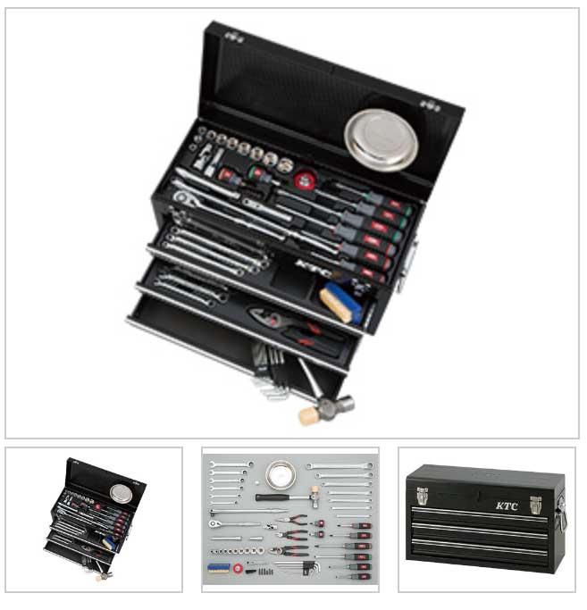 SK46020XBK KTC ブラック 12.7sq 60点組 工具セット(チェストタイプ)豪華商品プレゼント
