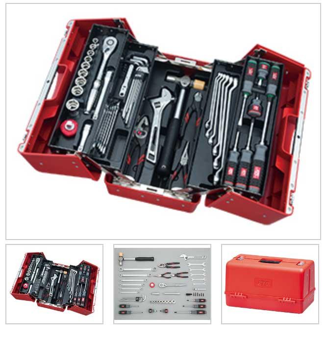SK45220P KTC 赤 12.7sq 52点組 工具セット(両開きプラハードケースタイプ) 豪華商品プレゼント