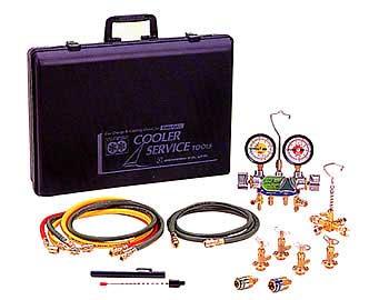 日本未入荷 デンゲン CP-3VSF 134a用 3バルブ ガスチャージセット:自動車工具専門店-DIY・工具