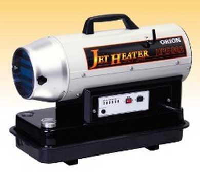 贅沢品 HPE80A オリオン機械 ジェットヒーター 可搬式温風機:自動車工具専門店-DIY・工具