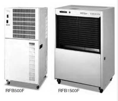 RFB500F 小型可搬式除湿乾燥機 汎用タイプ キャスター付 食品業から農業・サービス業までさまざまな産業でご利用いただけます。 車上渡し