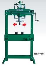 NSP-15 長崎ジャッキ 15t 油圧プレス  車上渡し重量物の為、荷卸しの際はフォークリフト クレーン 人手等が必要です。