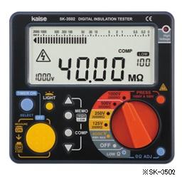 カイセ SK-3500 デジタル絶縁抵抗計