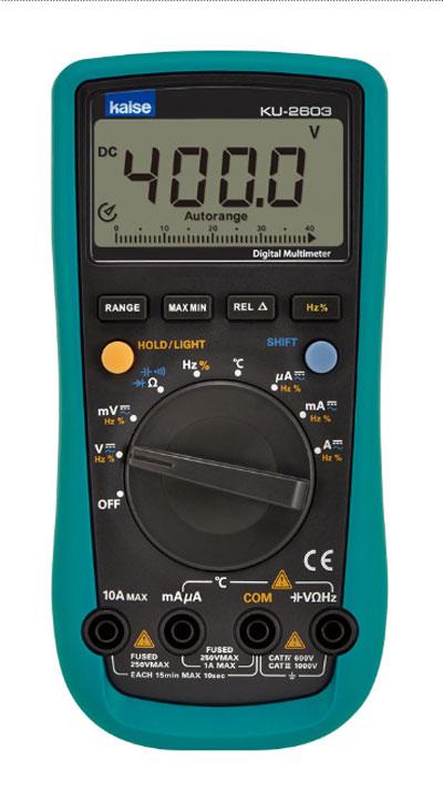 KU-2603 デジタルサーキットテスター