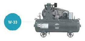 高級ブランド 富士コンプレッサー W-33MT 空冷二段タンクマウント形, 初山別村 dc51a8d0