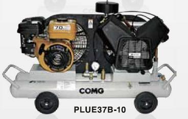 PLUE37B-10 アネスト岩田 コンプレッサー レシプロ 給油式 車上渡し 重量物の為、荷卸しの際、クレーン、フォークリフト、等が必要です。