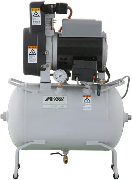 TFP04C-10M アネスト岩田 コンプレッサー レシプロ 給油式 車上渡し 重量物の為、荷卸しの際、クレーン、フォークリフト、等が必要です。