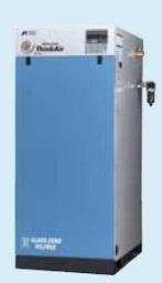 SLP-110EBD アネスト岩田 コンプレッサー スクロール 車上渡し 重量物の為、荷卸しの際、クレーン、フォークリフト、等が必要です。