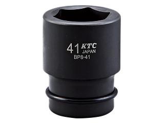 BP8-65P KTC 25.4sq.インパクトレンチ用ソケット(標準)ピン・リング付