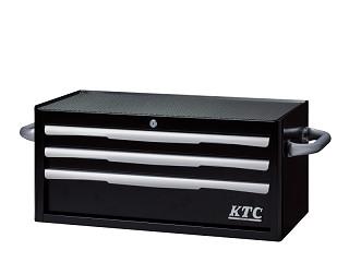 EKR-2003BK KTC フラットトップチェスト(3段3引出し)