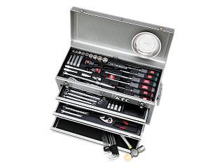 SK3650XS シルバー KTC 工具セット(チェストタイプ)