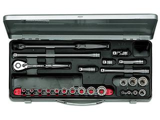 TB317X KTC 9.5sq.ソケットレンチセット[25点]