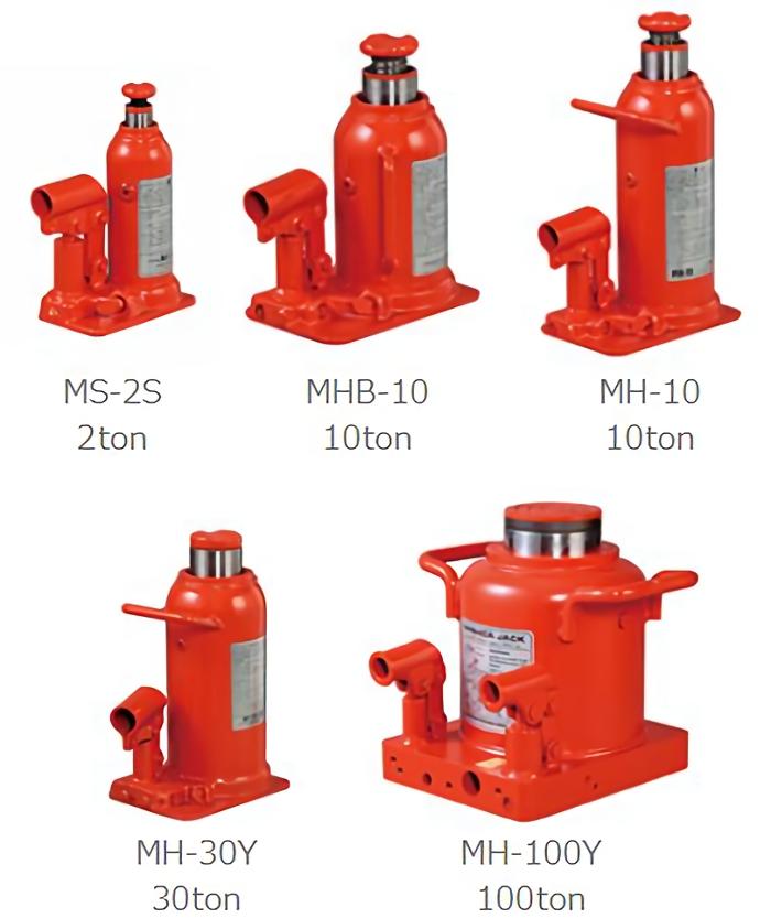 MHB-15 マサダ 低型油圧ジャッキ