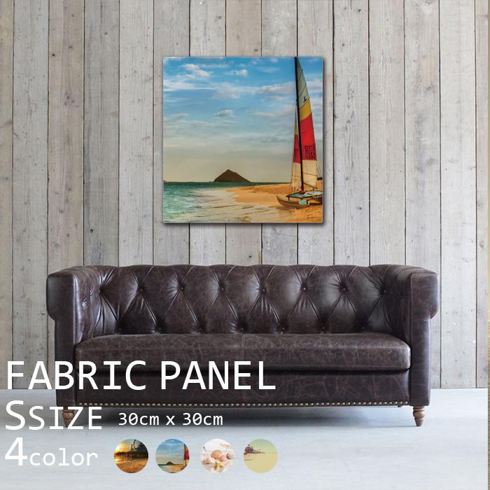 アートパネル ファブリックパネル 60x60cm インテリアアートパネル サーフィン 波 ヨット 海 ビーチ
