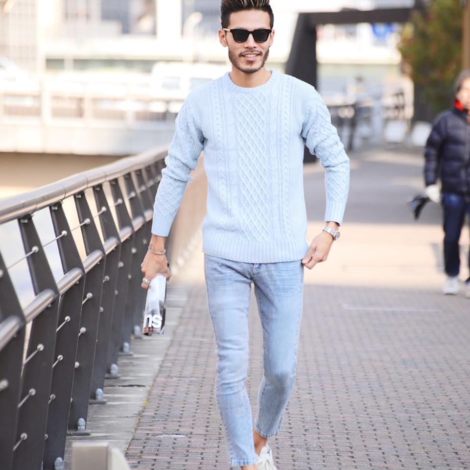 ◇Winter clothes side line underwear line underwear in winter stretch denim  fleece pile line skinny pants ◇ denim jeans men denim underwear bottoms for