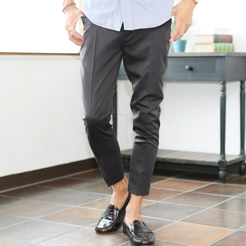 feea67156df2 ... ◇roshell (Rochelle) TR stretch ankle slacks ◇ slacks men ankle trouser  suit slim