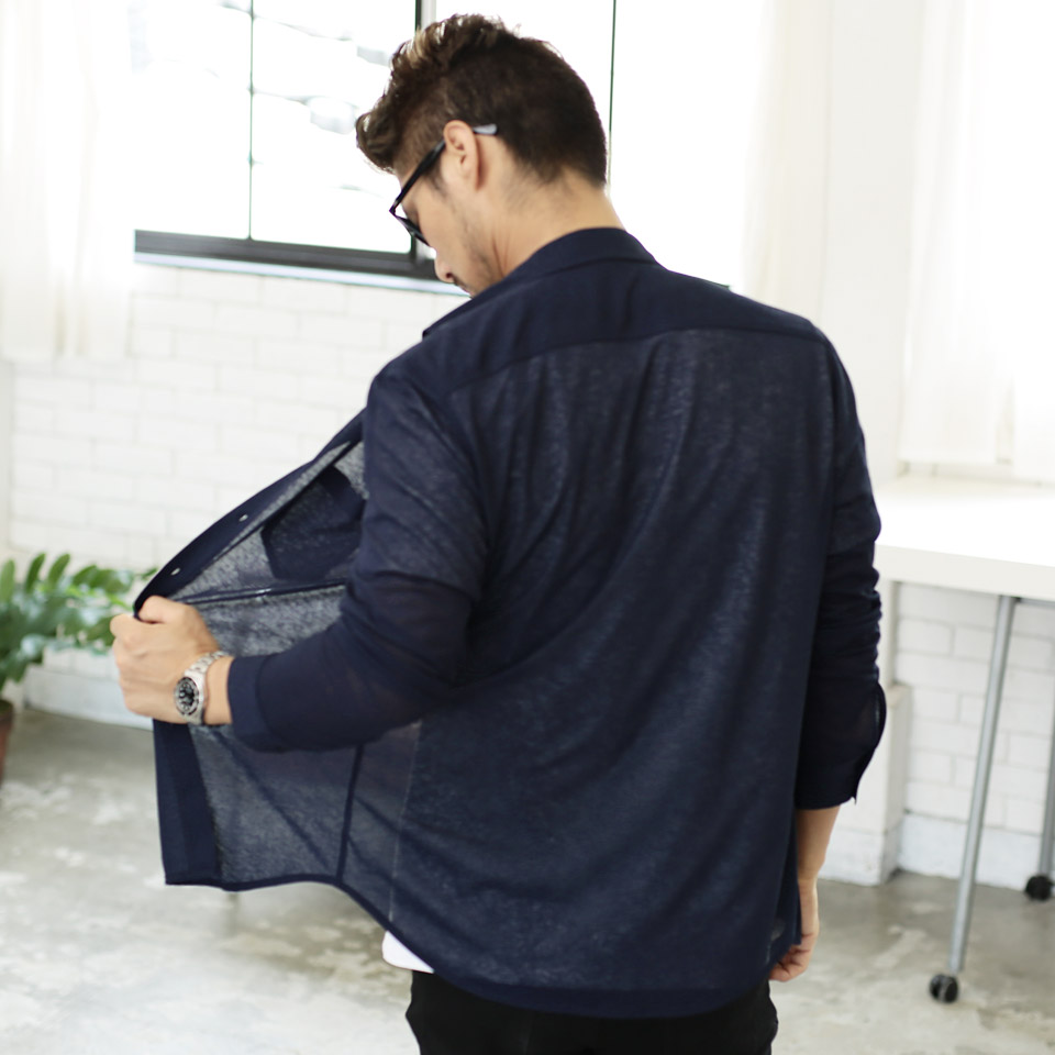 97e1513ac1c ◇It is clothes autumn clothing in autumn in summer clothes summer clothing  autumn in spring clothes spring clothing summer in cut see-through shirt ◇  thin ...