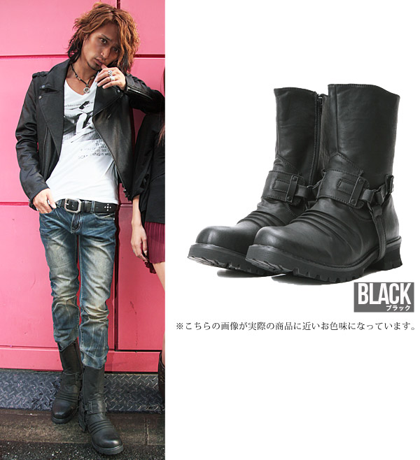 ◆ Roshell (Rochelle) リングブーツ ◆ brother series Men's boots men's brother system boots shoes shoes leather brother of fashion brother meaning meting