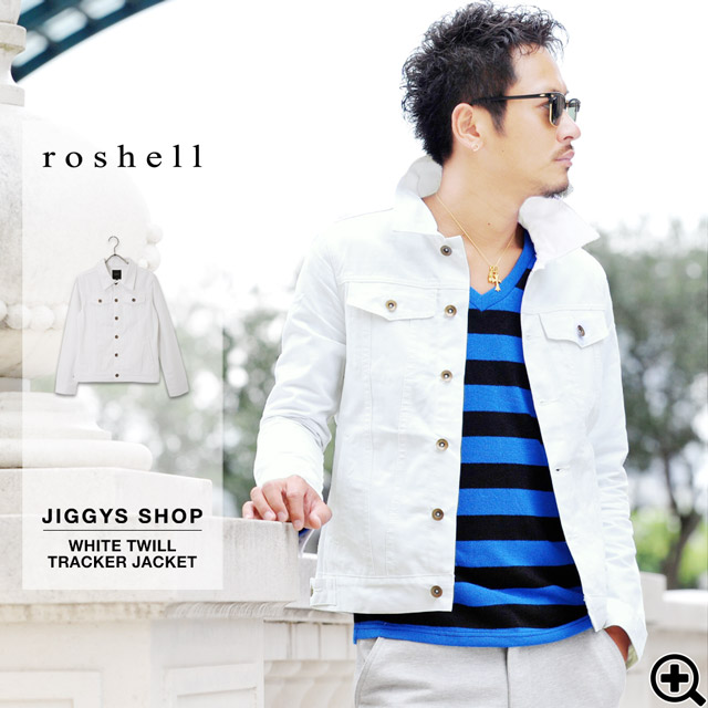 JIGGYS SHOP | Rakuten Global Market: ◇Roshell White Twill Tracker ...