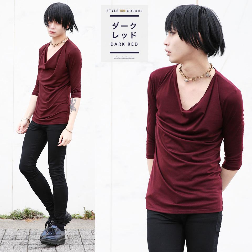 ◆ Roshell (로 셸) 커 7 분 소매 셔츠 ◆ 동생 계 Men 's T-SHIRTS TEE T 셔츠 남자 셔츠 (오 빠) 계 티셔츠 남성 무지 5 분 소매 5 분 소매 7 분 소매 7 부 소매 (오 빠) 계 패션 오 빠% OFF 컷 소 우 남성 패션