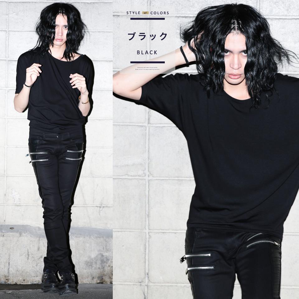 dc85d531 ... ◇It is sleeve half-length sleeves men gap Dis unisex Korea fashion  plain fabric ...