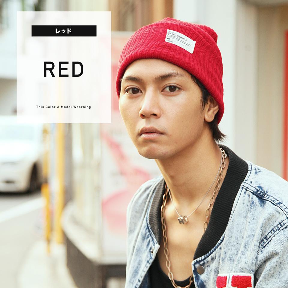 ◆Rochelle tereko color knit hat ◆ cool style/ knit hat/ beani cap/ winter fashion/ Lady's / men fashion/ neon kids/ brand black logo /fall and winter hat /men hat