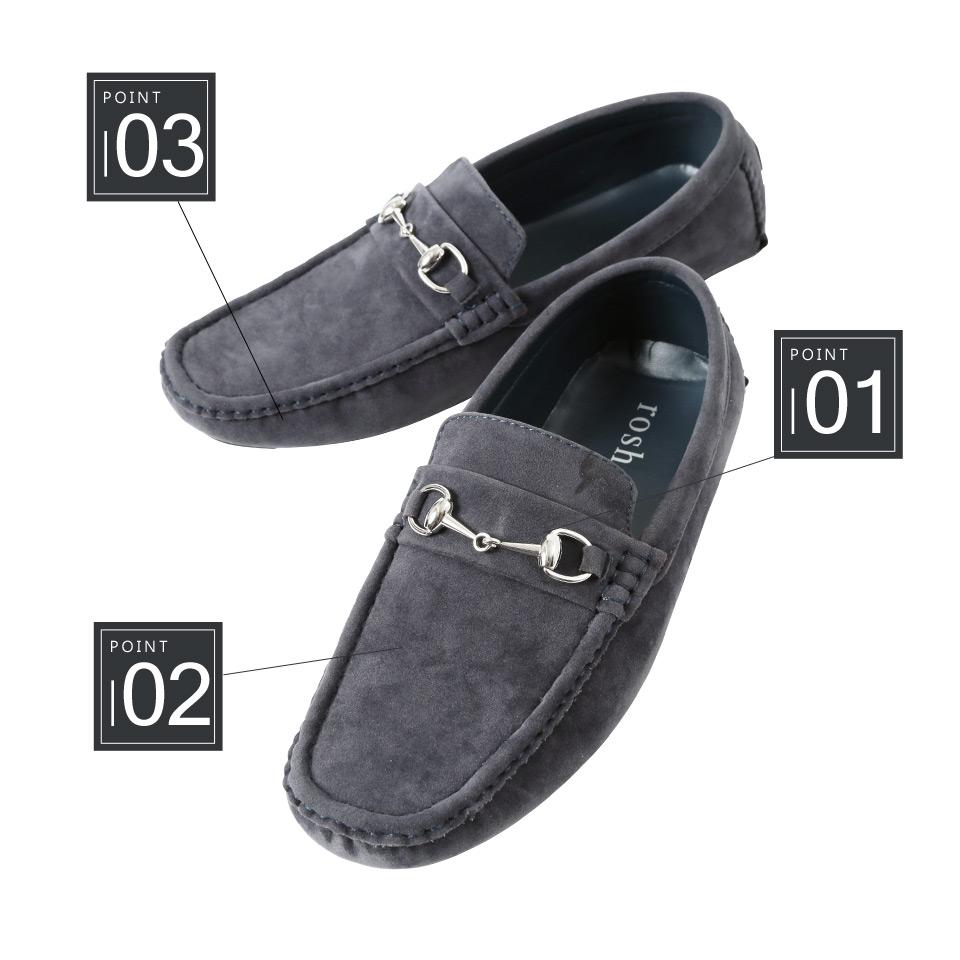 Jiggys Shop Roshell Driving Shoes Mens Fashion Slip Ons D Island On Mocasine Casual Loafers Black Men Red White Moccasin Loafer