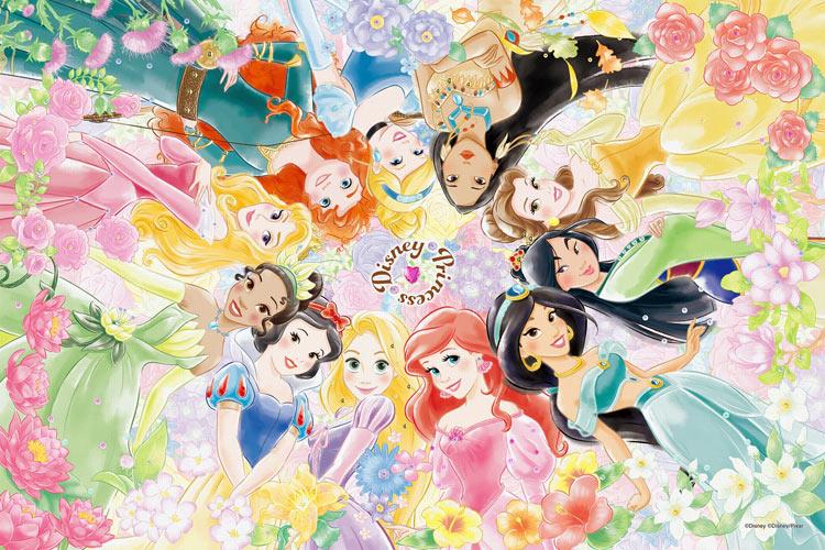 EPO-97-001 ディズニー Floral Dream(フローラル・ドリーム) (プリンセス) 1000ピース ジグソーパズル 【あす楽】[CP-PD] パズル デコレーション パズデコ Puzzle Decoration 布パズル ギフト プレゼント