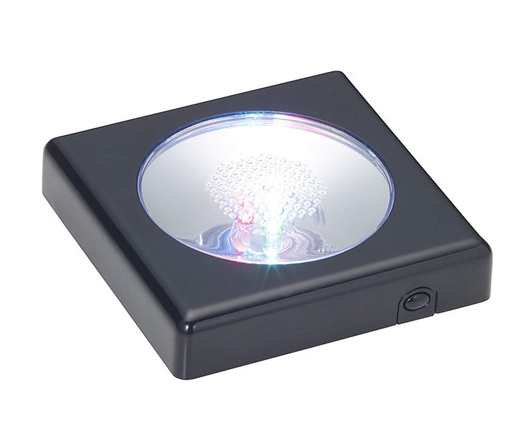 BEV-48414 クリスタルパズル ディスプレイライト 格安 価格でご提供いたします ブラック 立体パズル 定価