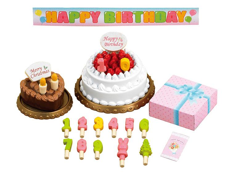 カ-416 シルバニアファミリー バースデーケーキセット おもちゃ 【あす楽】[CP-SF] 誕生日 プレゼント 子供 女の子 3歳 4歳 5歳 6歳 ギフト お人形 シルバニア