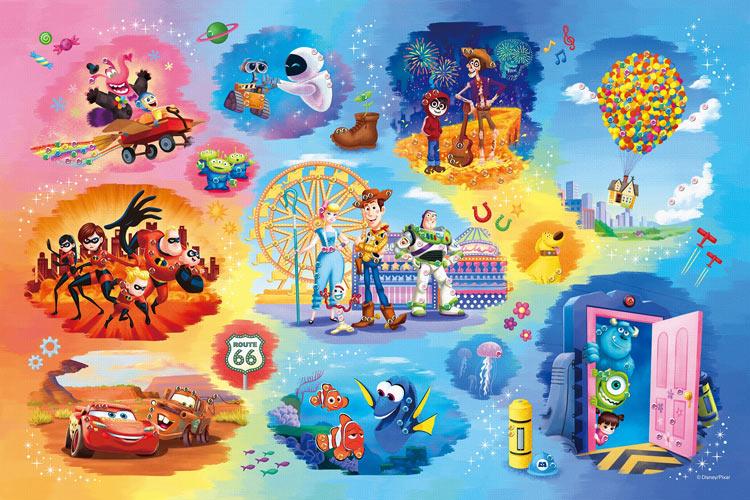 EPO-97-003 ディズニー Disney・Pixer Collection(ディズニー・ピクサーコレクション)  1000ピース ジグソーパズル 【あす楽】[CP-PD] パズル デコレーション パズデコ Puzzle Decoration 布パズル ギフト プレゼント