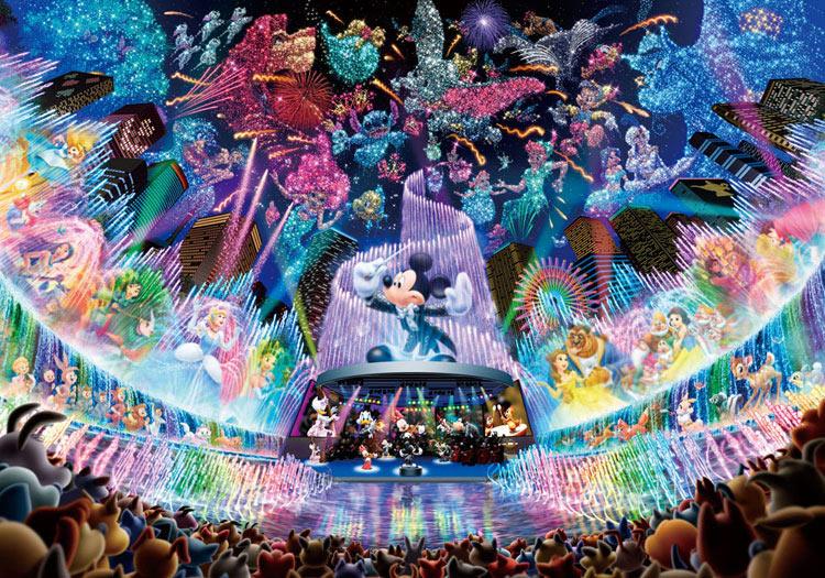 TEN-DSG500-437 ディズニー ディズニー ウォーター ドリーム コンサート(ミッキー) 500ピース ジグソーパズル