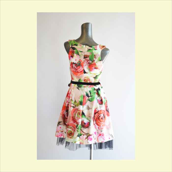 Big flower print dress ★ Rinascimento lady's ★ {whole country} import  select foreign countries direct import celebrity-like individual high