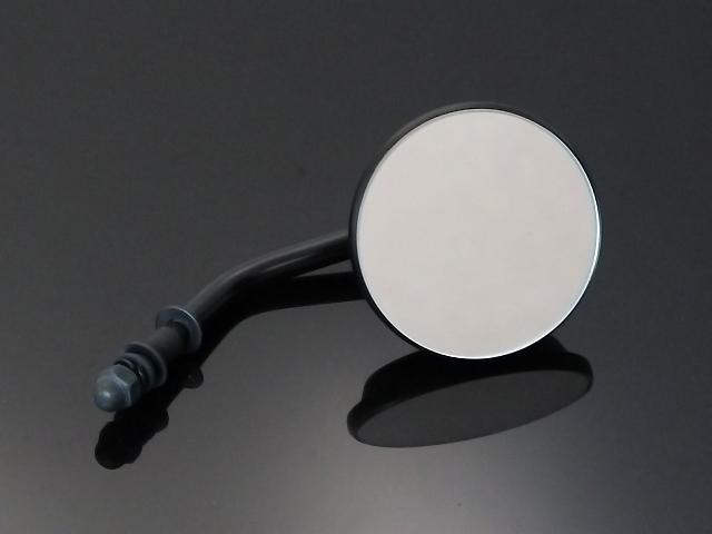激安通販ショッピング 3インチ ラウンドミラー 大幅値下げランキング 貫通マウントタイプ マットブラック