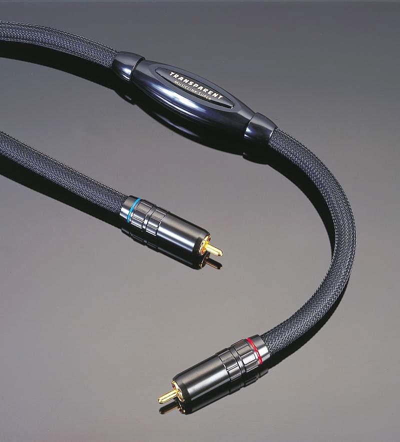 MLS1-1M トランスペアレント RCAケーブル(1.0m・ペア)MusicLink Super 1.0m(ペア)
