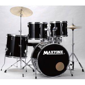 MX-116 BLK マックストーン ドラムセット(ジェットブラック) MAXTONE [MX116キクタニ]【返品種別A】