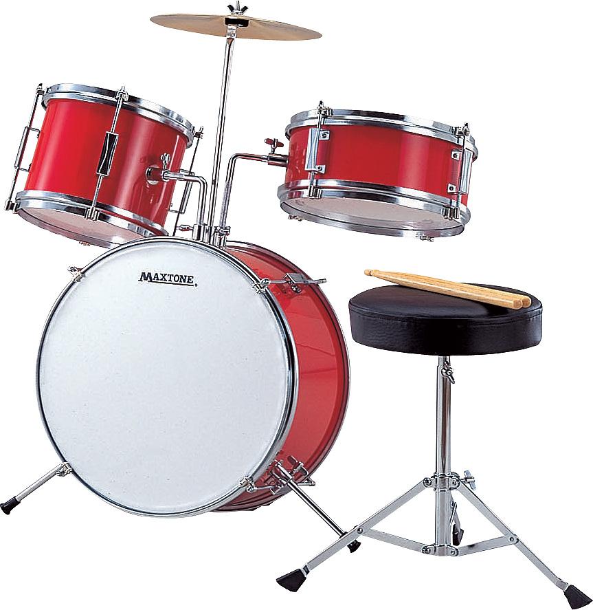 MX-50-RED マックストーン ジュニアドラムセット(レッド)